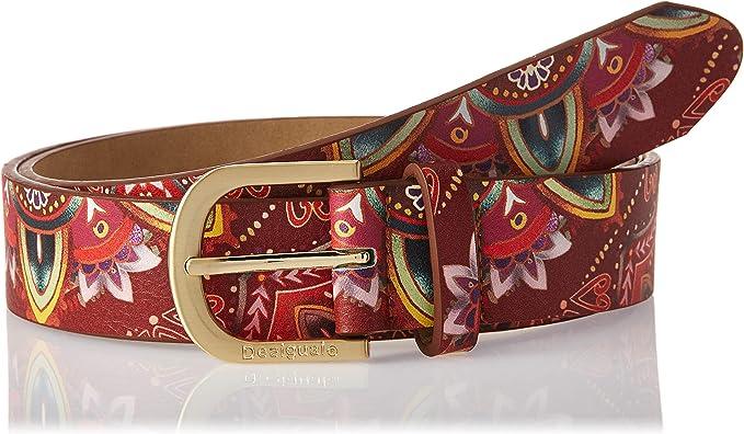 TALLA 110 (Talla del fabricante: 95|#95|#6651). Desigual Polaris Basico Cinturón para Mujer