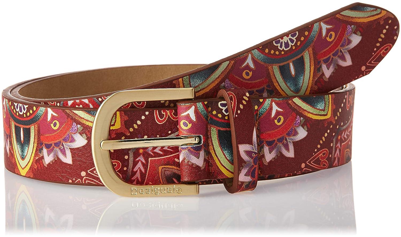 TALLA 105 (Talla del fabricante: 90|#90|#6641). Desigual Polaris Basico Cinturón para Mujer