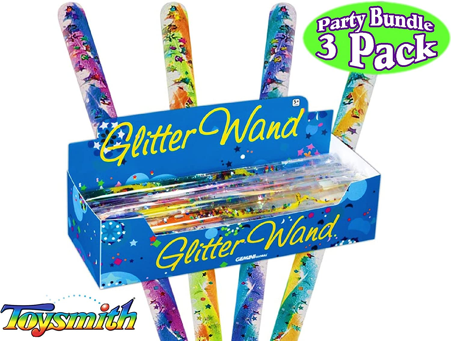 Pack of 3 Magic Wands 17 in