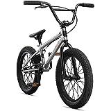 Mongoose Legion Sidewalk Freestyle BMX Bike for Kids, Children and Beginner-Level Riders, Featuring Hi-Ten Steel Frame…