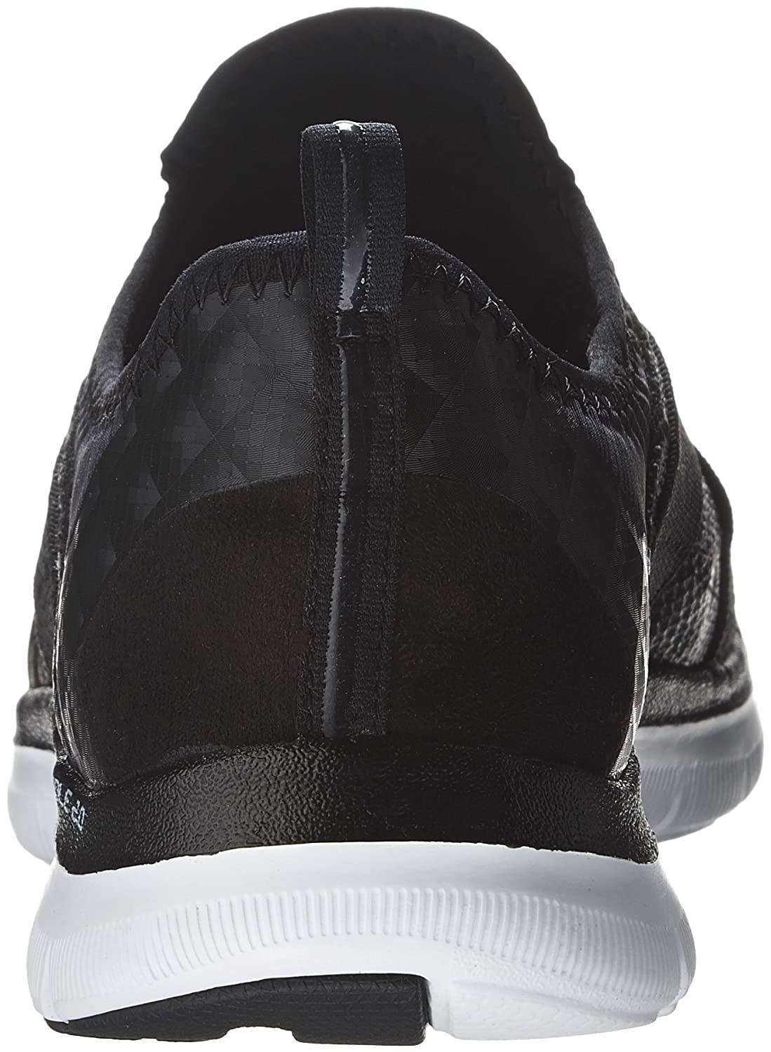 Skechers Damen Flex Appeal 2.0 New Image Sneakers Schwarz/Weiß