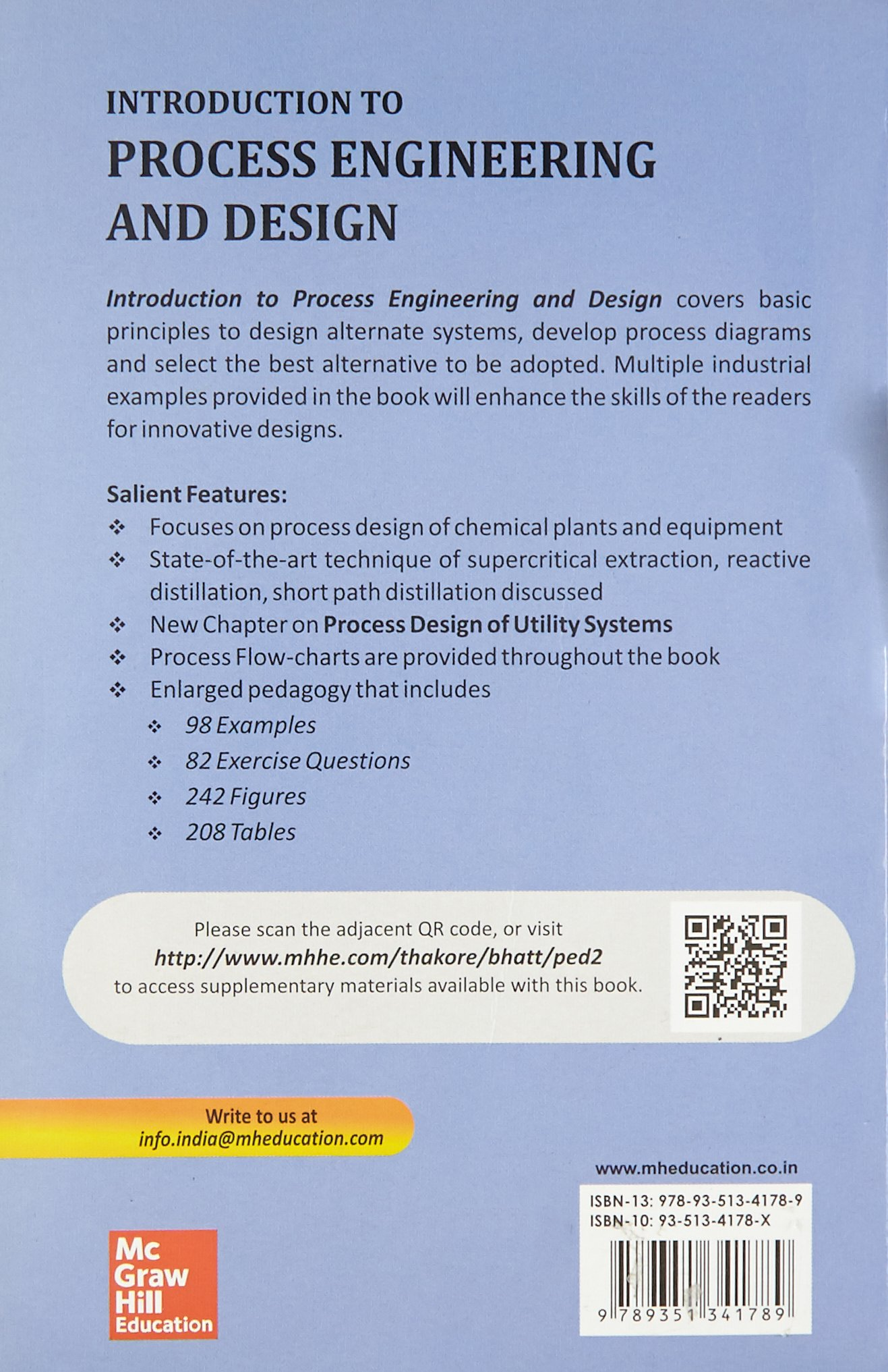 Buy Introduction to Process Engineering and Design Book Online at ...