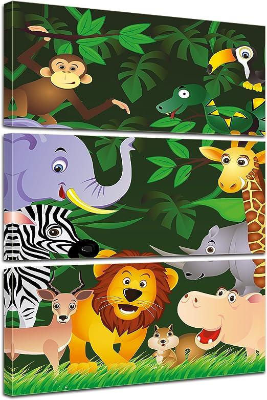 Bilderdepot24 Cuadros en Lienzo Imagen de los niños - Animales ...