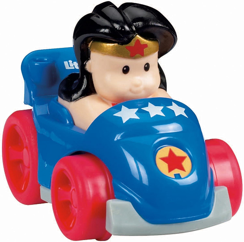 Fisher-Price Little People DC Super Friends Wheelies Wonder Woman Vehicle