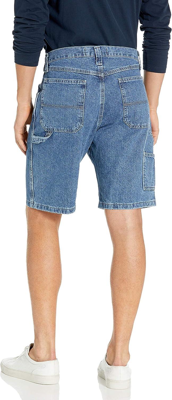 Men/'s Wrangler Used Denim Vintage Summer Shorts Zip Fly Waist 34 Men Short Blue