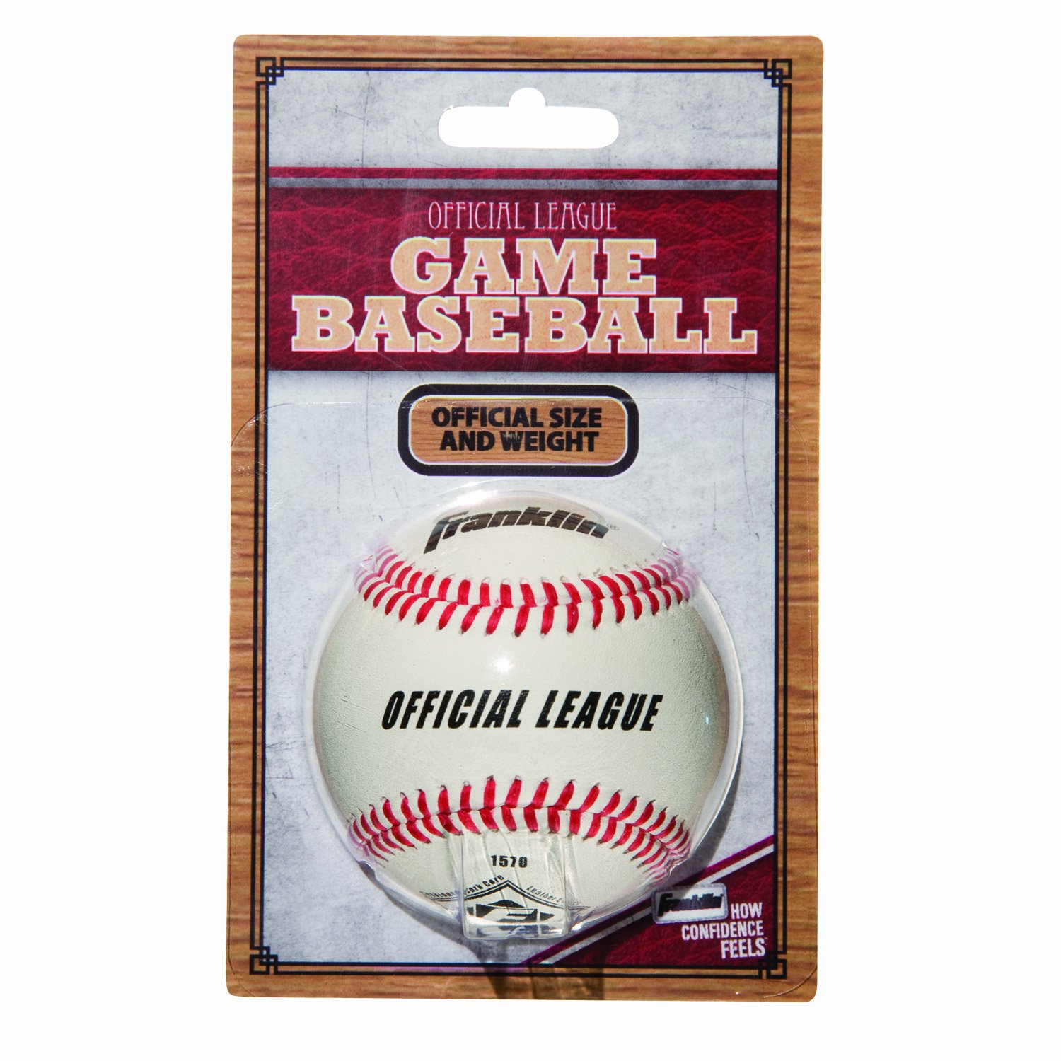 Franklin Sports Offizielles League Leder Spiel Baseball 1570