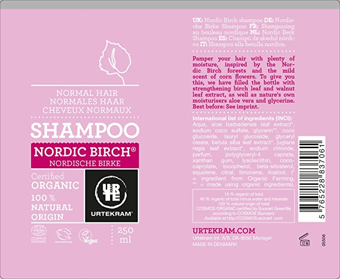 nordic birch shampoo