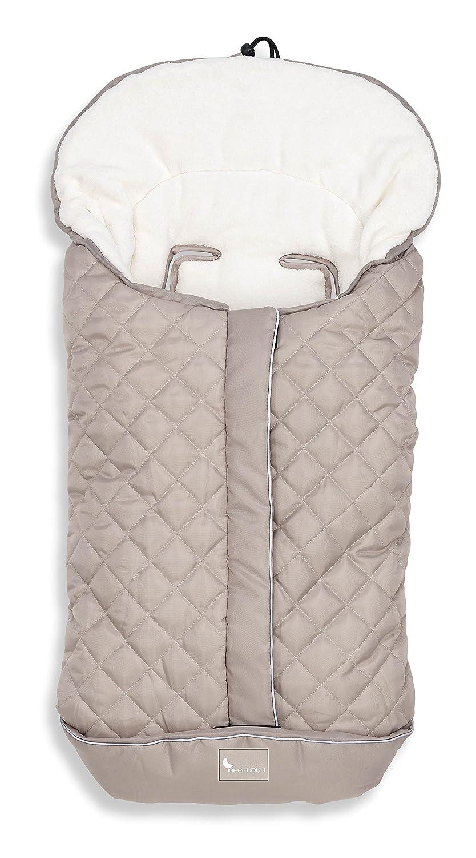 Saco Polar Universal de Invierno para Silla de Paseo color Beig Rombos