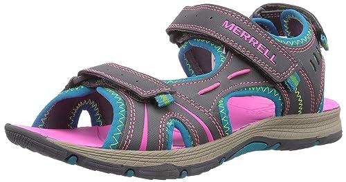 8f56bd682 Merrell Panther Sandal - Sandalias Deportivas de Material sintético para  Niño  Amazon.es  Zapatos y complementos