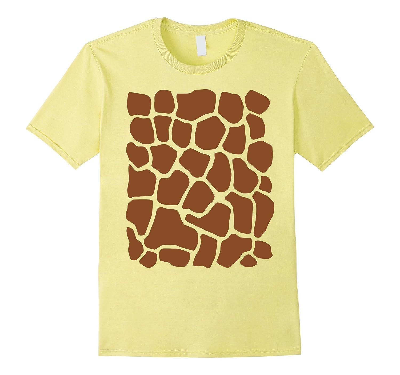 Giraffe Print Simple Halloween Costume Cute T-shirt-FL
