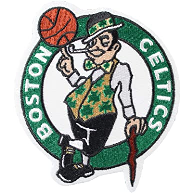 sports shoes e3776 0450f Official Boston Celtics Logo Large Iron On NBA Basketball Patch Emblem