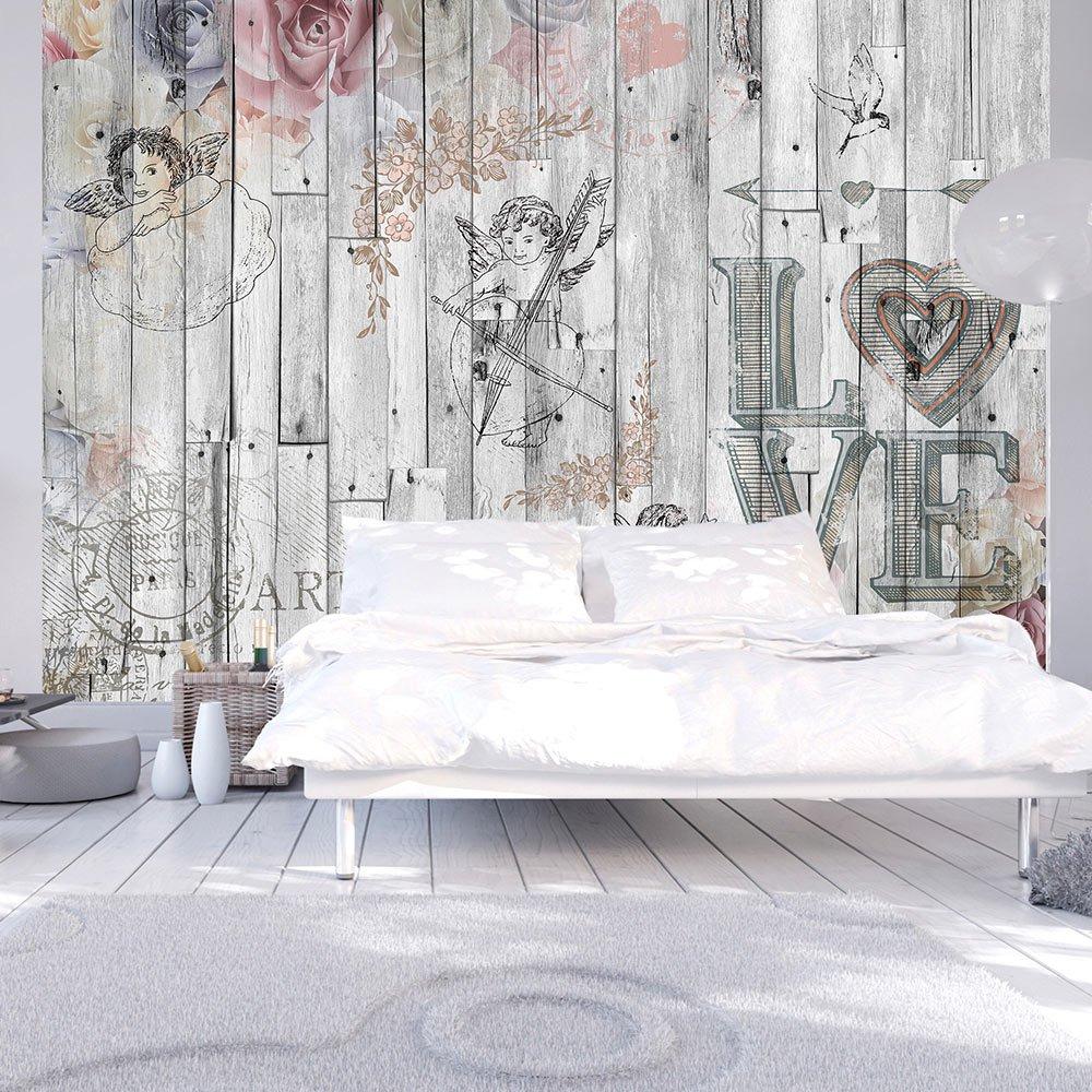 Murando - Fototapete 350x256 cm - Vlies Vlies Vlies Tapete - Moderne Wanddeko - Design Tapete - Wandtapete - Wand Dekoration - Holz Vintage f-C-0010-a-a e21efb