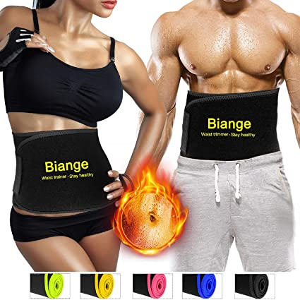 09524b29e05c6 Amazon.com  Biange Waist Trimmer Belt for Women   Men