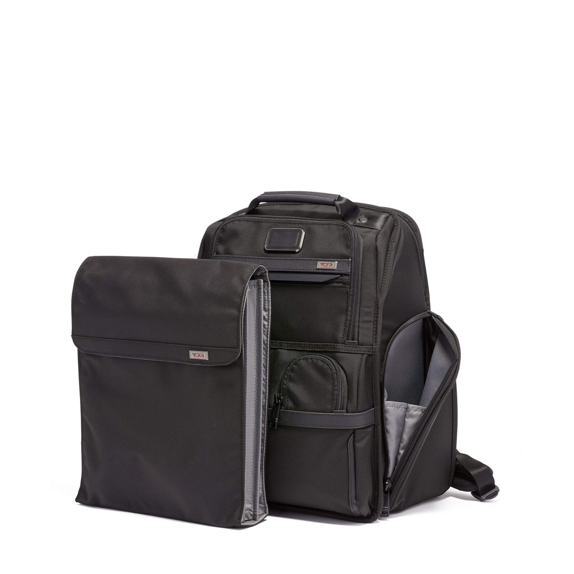 TUMI - Alpha 3 Compact Laptop Brief Pack - 15 Inch Computer Backpack for Men and Women - Black by TUMI (Image #4)