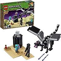 LEGO 21151 Minecraft The End Gevecht, Verzamelspeelgoed met de Enderdraak en Enderman, Speelgoed voor Kinderen vanaf 7…