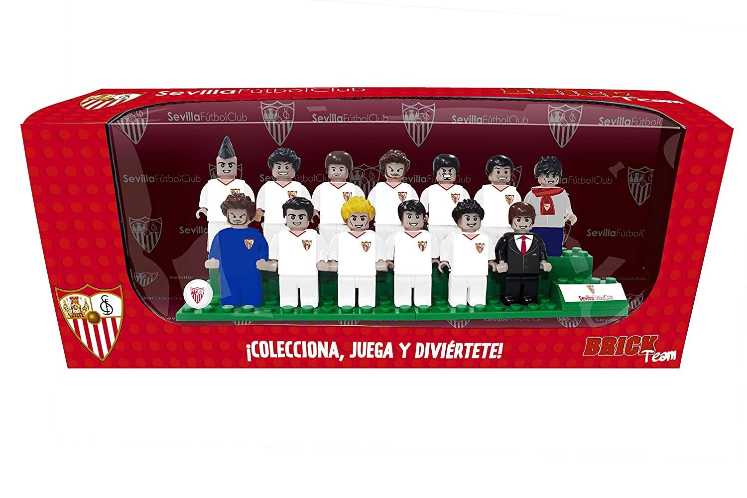 Sevilla FC Brick Team (10643), Multicolor (Eleven Force 1): Amazon ...