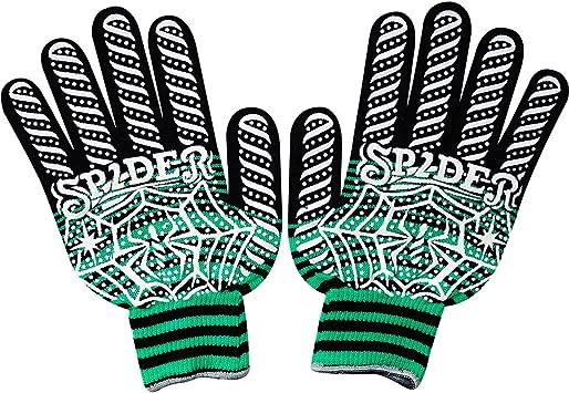Guantes cálidos de Invierno de algodón, Color Negro, Verde y Blanco, para fútbol, Running, Golf, Ciclismo: Amazon.es: Bricolaje y herramientas