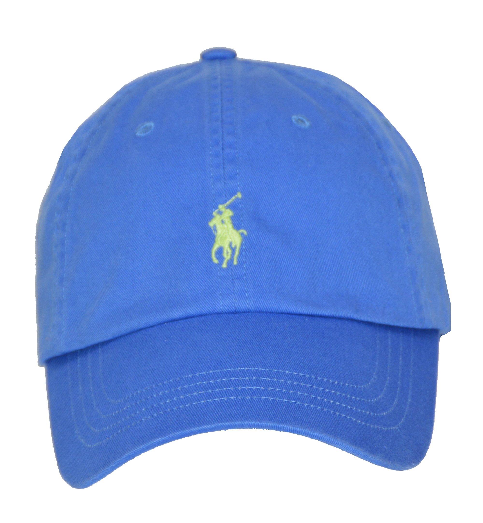 0191ab2f Galleon - Polo Ralph Lauren Men/Women Cap Horse Logo/Adjustable, Cyan Blue
