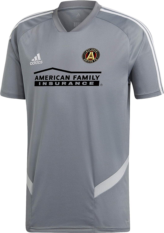 adidas Atlanta United FC - Camiseta de Manga Corta para Entrenamiento, XXXL, Gris/Blanco: Amazon.es: Deportes y aire libre
