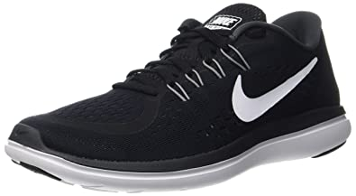 Nike Flex RN 2017 Black/White/Anthracite/Cool Grey Mens Running Shoes