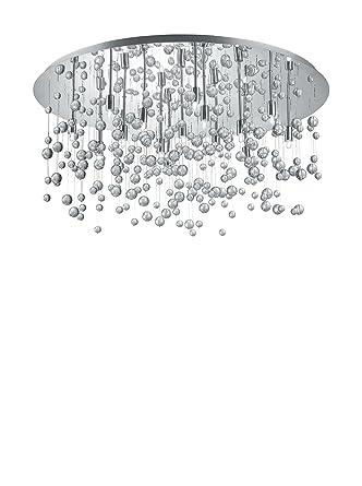 Neve Illuminazione Soffitto Ideal Interno Pl15 G9 Da Lux Cromo Ib6v7gyYf