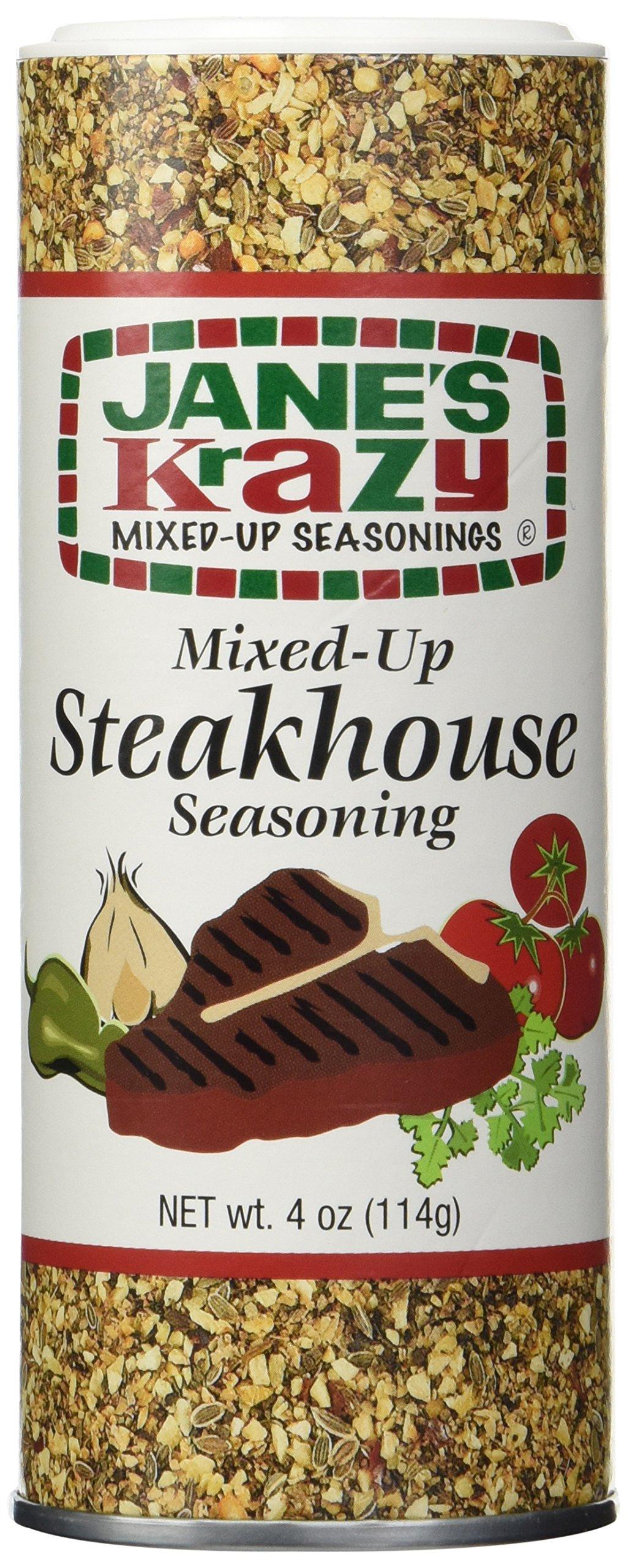 Jane's Krazy Mixed-Up Steakhouse Seasoning - 4 oz
