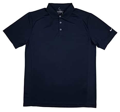 5c8ee47a Image Unavailable. Image not available for. Color: Nike Golf Dri Fit Polo  818050 419 Navy ...