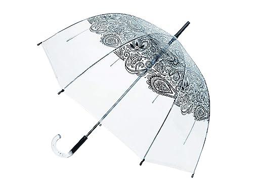 Smati Parapluie Long  : un joli parapluie transparent courbé