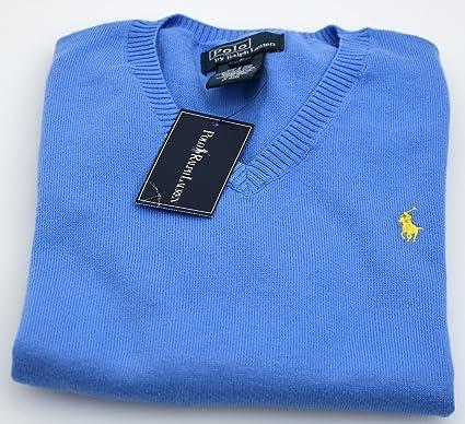 Polo Ralph Lauren Jersey Suéter para Niño Azul Art. K40 SSWVN ...