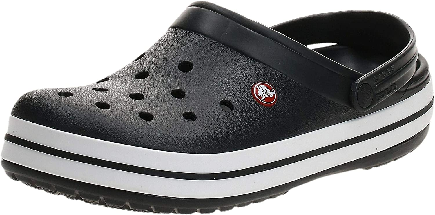 Crocs Men's and Women's Crocband Clog | Slip on Shoes | Casual Water Shoes