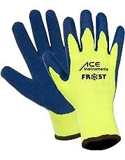 3paia di Ace Frost–Guanti da Lavoro Termico - Contro il Freddo - con Grip - Guanti Antifreddo - Perfetto in Inverno–EN 388/511 - 10-L