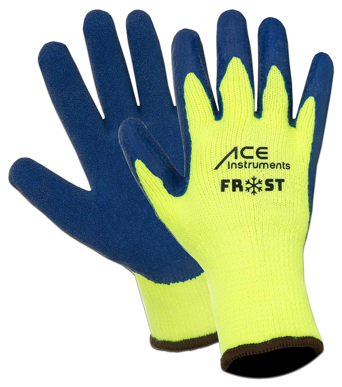 3 Paar ACE Frost Winter-Arbeitshandschuhe - Wasserdichte Handschuhe gegen Kä lte - EN 388 & EN 511 - Gr 10 (XL) ACE-Frost-10