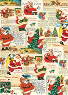 Amazon.com: Cavallini & Co. Vintage Christmas Decorative Decoupage ...