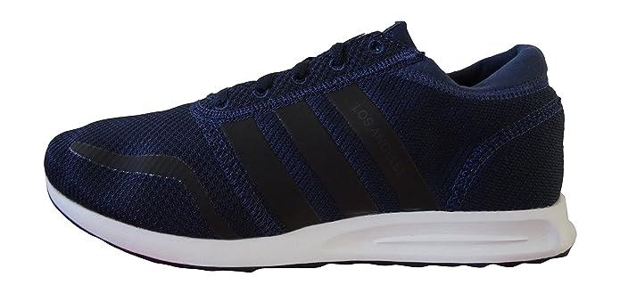 adidas Los Angeles Schuhe Herren blau m. schwarzen Streifen