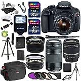 Câmera Canon EOS Rebel T5 com Lente 18-55mm III