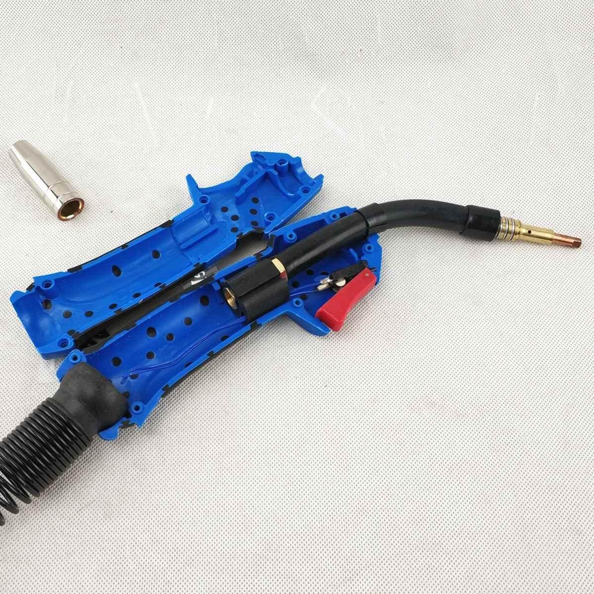 Professional MB 15AK Welding Torch Head 15AK Torch Body 180A MIG//MAG Torch European Style Welding Gun