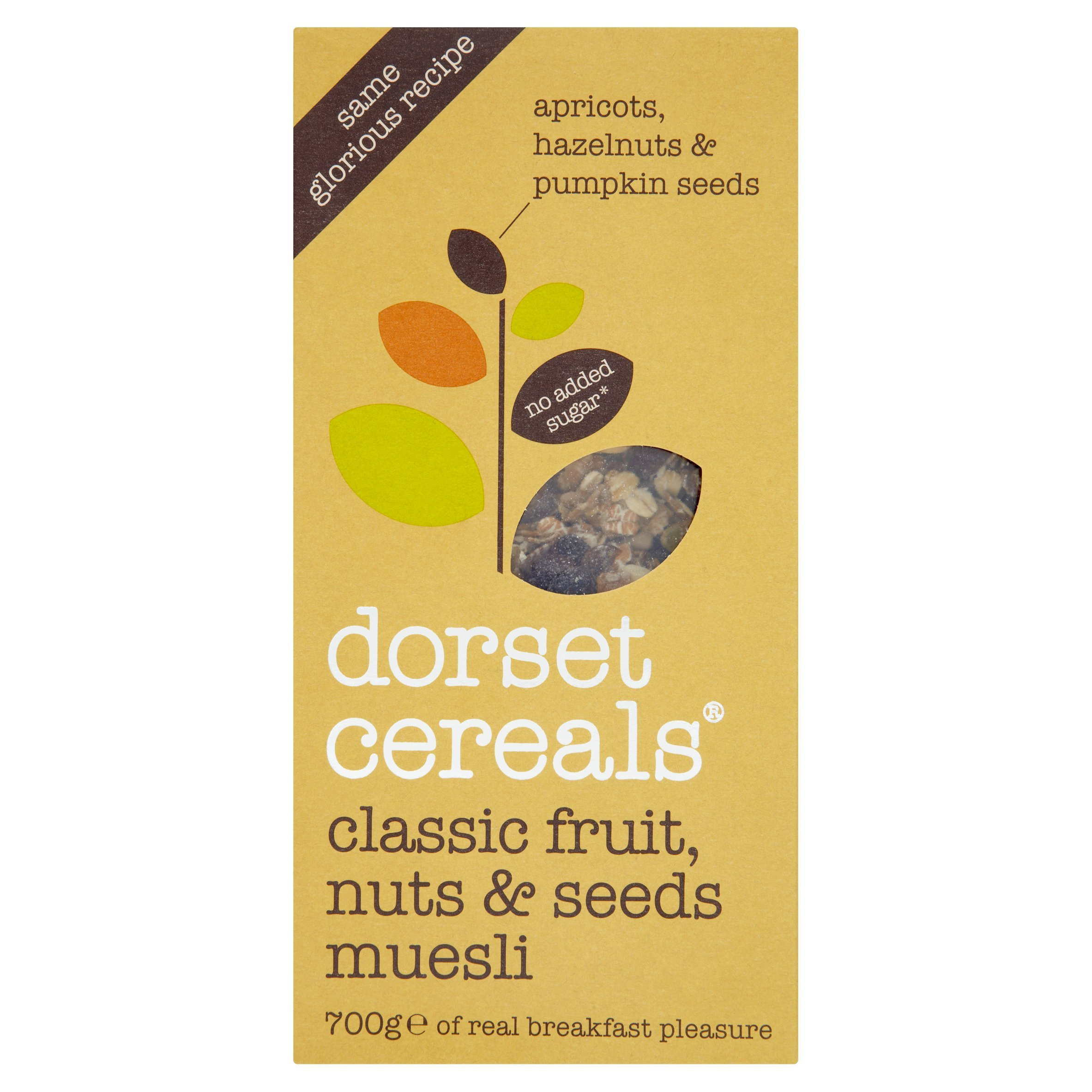Dorset Cereals - Muesli - Classic Fruits, Roasted Nuts & Seeds - 700g