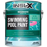 INSL-X WR102309A-01 Waterborne, Semi-Gloss Pool Paint, 1 Gallon, Ocean Blue