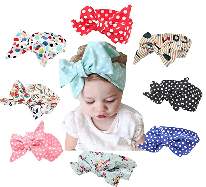 Baby Accessories Baby Girls Knotted Bow Headband High Standard In Quality And Hygiene Hair Accessories