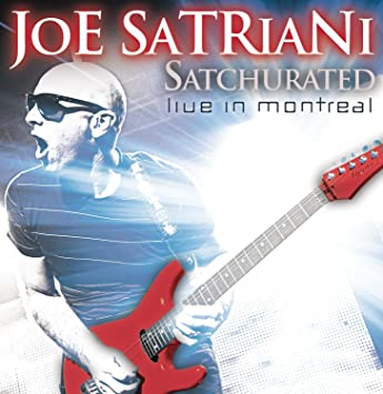 Joe satriani satchurated live in montreal amazon music satchurated live in montreal m4hsunfo