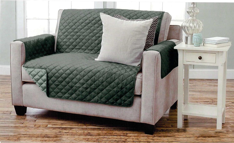 Funda reversible para sillón y sofá, acolchada, con ...
