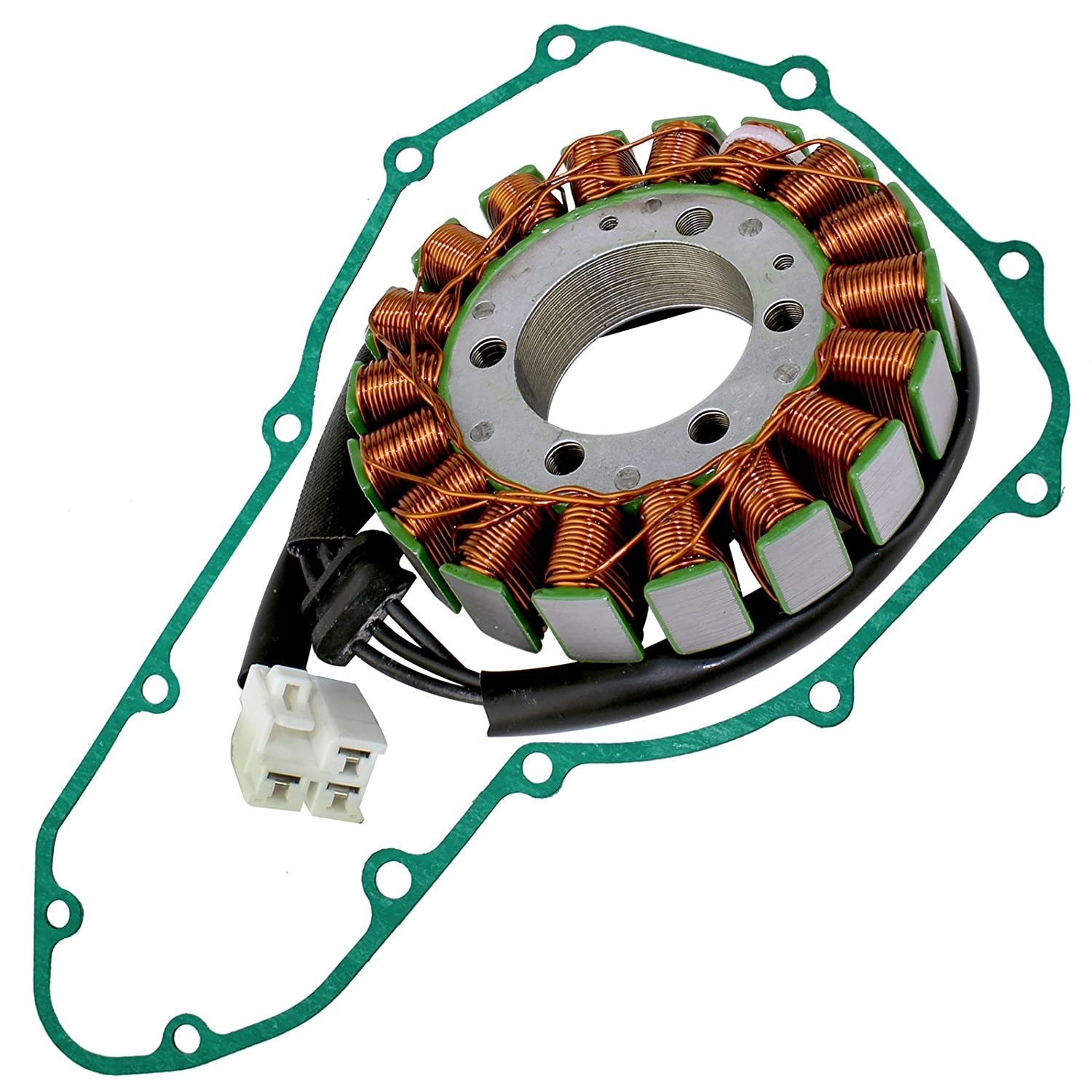 Amazon.com: Caltric Stator And Gasket for Kawasaki Ninja 650 ...