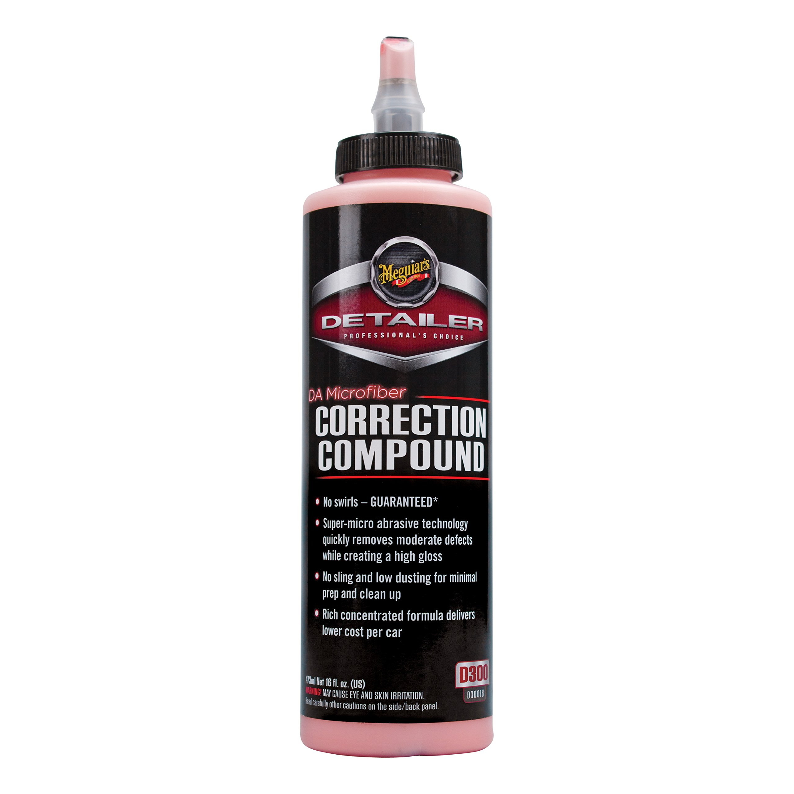 Meguiar's D30016 DA Microfiber Correction Compound - 16 oz.