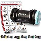 POWRX - Sandbag 5 kg, 10 kg, 15 kg, 20 kg, 25 kg, 30 kg - Perfetta per Migliorare Equilibrio, Forza, flessibilità, coordinazione e circolazione - Power Bag