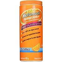 Metamucil Suplemento de Fibra Sabor Naranja sin Azucar, 425 g