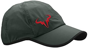 Nike Premier Rafa Bull Logo Cap Green Dk Mica Green Black Lt Crimson Size 3d14a605c23