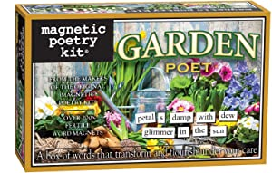 Magnetic Poetry - Garden Poet Kit - Words for Refrigerator - Write Poems and Letters on The Fridge - Made in The USA