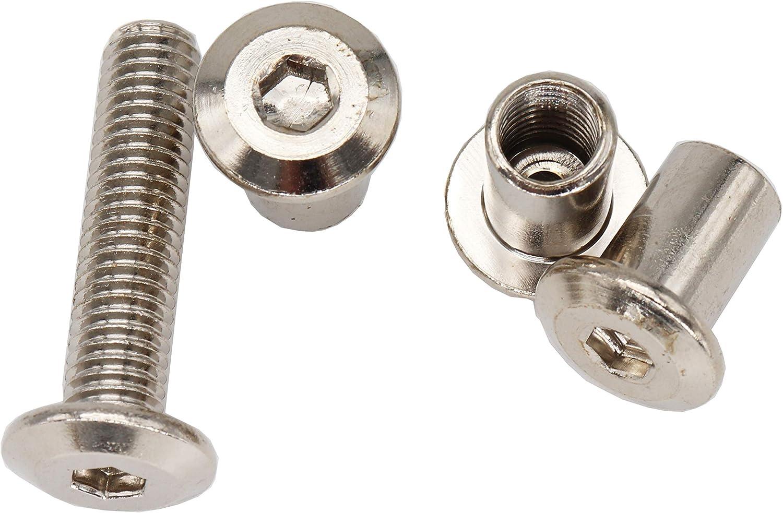 7//8-9 Coarse Thread Grade 2 Regular Square Nut Low Carbon Steel Zinc Plated Pk 10