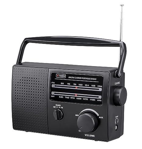 Amazon Com Pr 137 Am Fm 2 Band Portable Radio Ac Operated Or