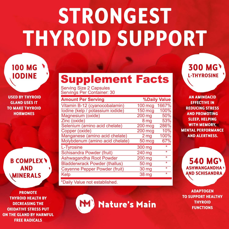 Amazon.com: Almohadillas de energía de apoyo tiroideo ...